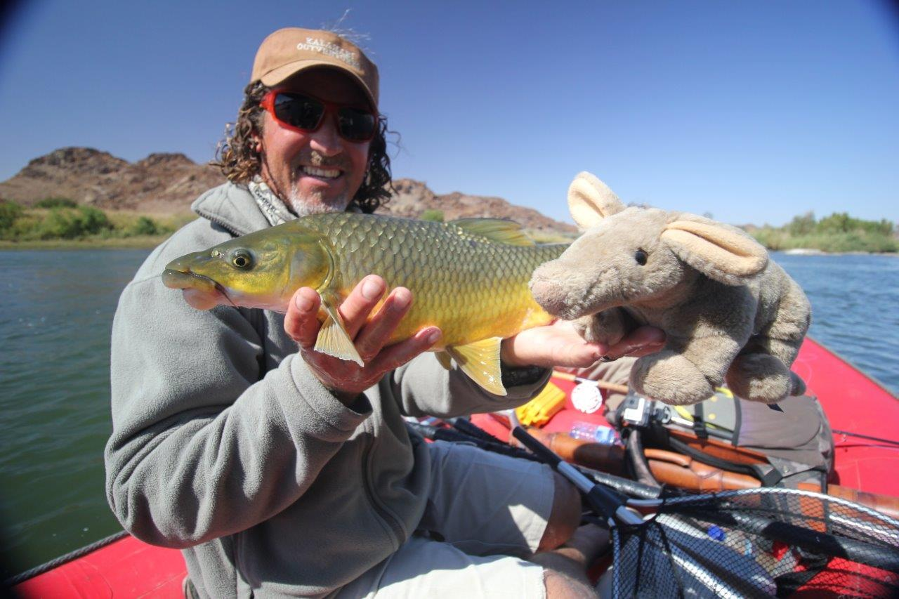 Kalahari Yellowfish, Orange River, South Africa, Aardvark McLeod, largemouth yellowfish, smallmouth yellowfish, Alex Jardine