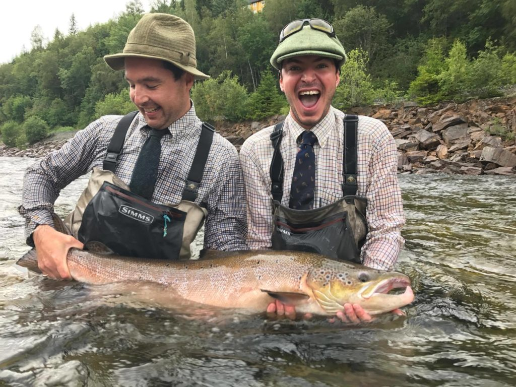 Gaula River, Winsnes Lodge, Norway, Atlantic salmon