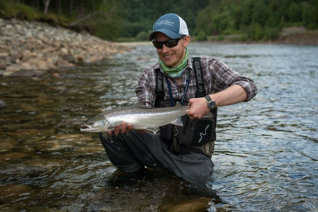Gaula River, Winsnes Lodge, Norway, Atlantic salmon, Alex Jardine