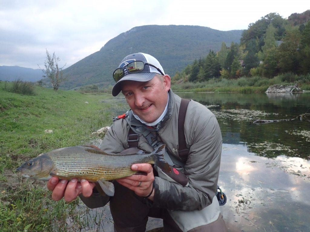 Bosnia, Pliva, trout fishing, Grayling, Phil Ratcliffe