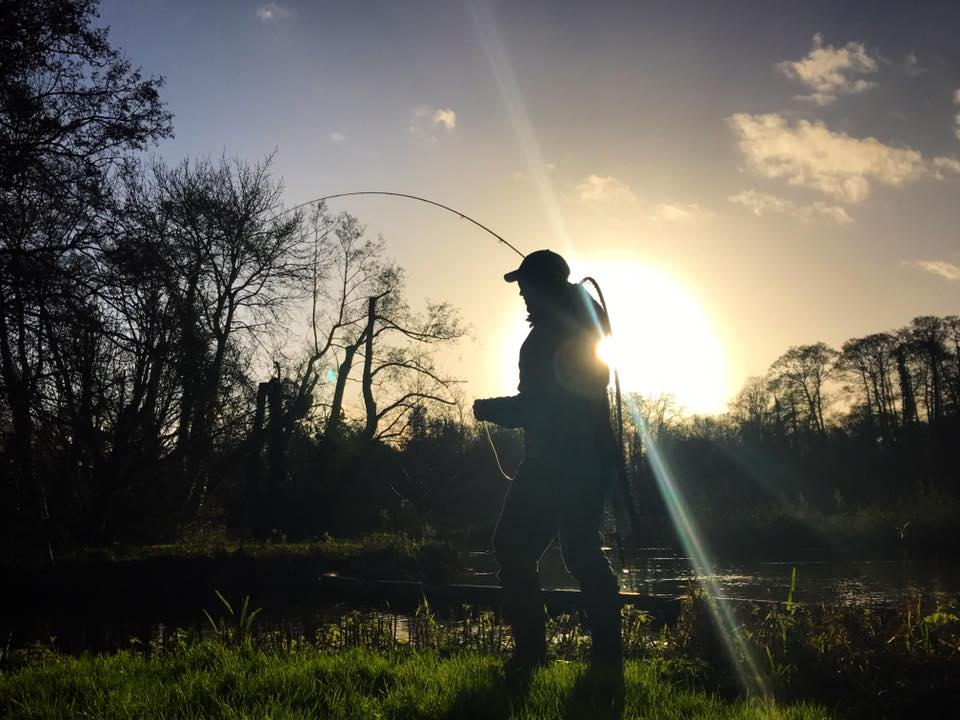 UK fishing, chalkstream, pike, pike fishing, UK fishing guides, River Test