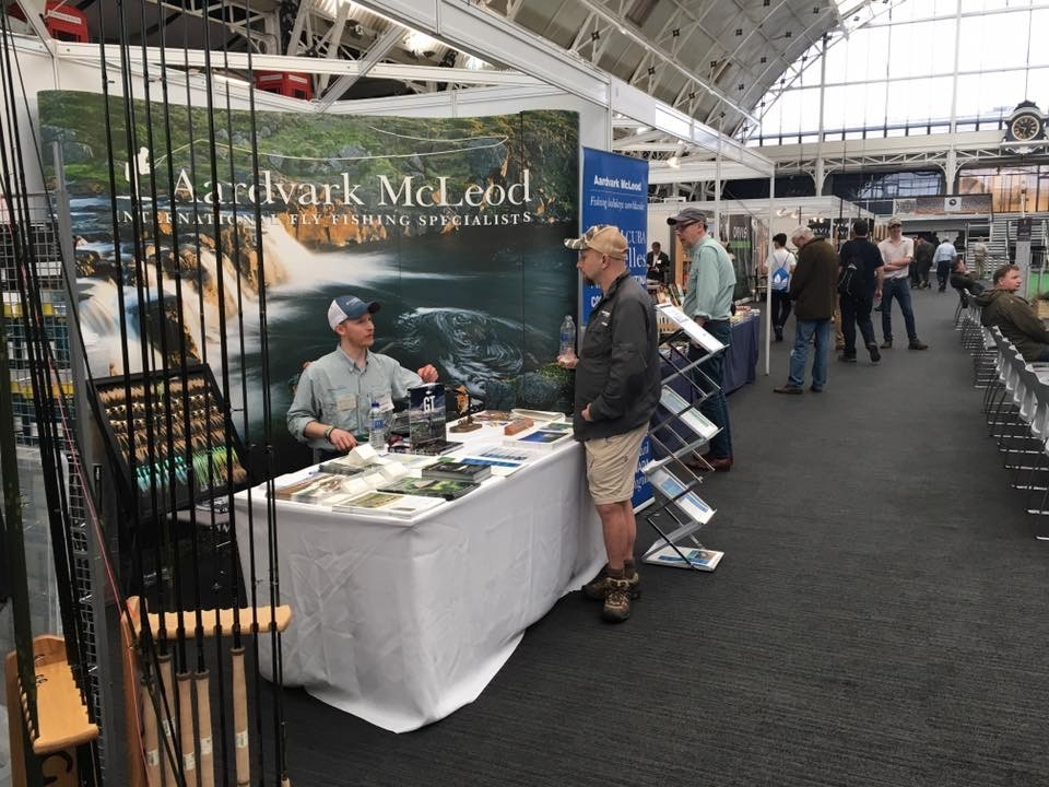 The London Fly Fishing Fair, London Fly Fair, London Fishing, Aardvark McLeod