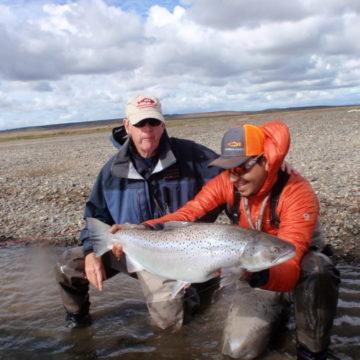 Aurelia Lodge, Rio Grande, sea trout, Argentina, Tierra del Fuego