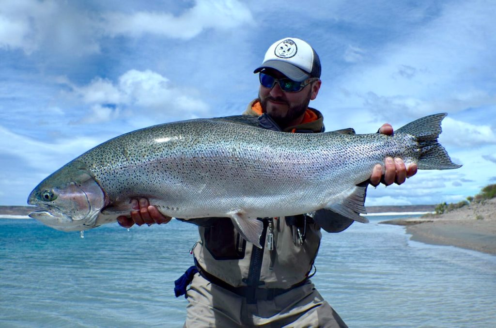 Aardvark McLeod, Estancia Laguna Verde, fishing argentina, Jurassic Lake, huge rainbow trout, barrancoso river, wild rainbow trout, lago strobel, moro creek, elv, fishing calafate, sight fishing trout