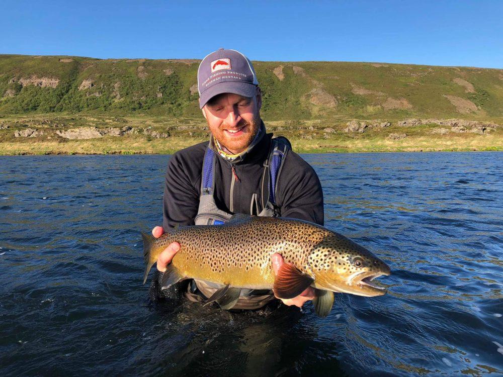 Laxardal Iceland, Laxa I Adaldal Iceland, brown trout fishing Iceland, Aardvark McLeod Iceland, Iceland