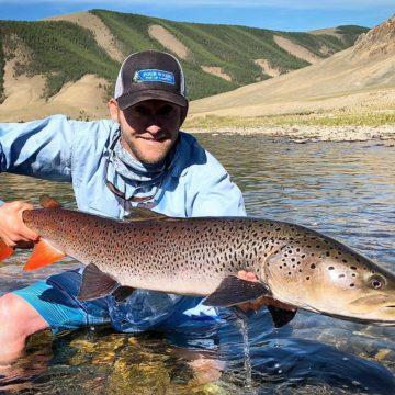 Delger Muron, Taimen Fishing, Mongolia, Aardvark McLeod