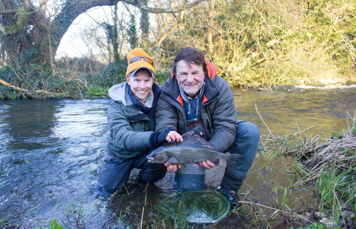 River Frome, brown trout fishing, grayling fishing, chalkstream fishing, Aardvark McLeod