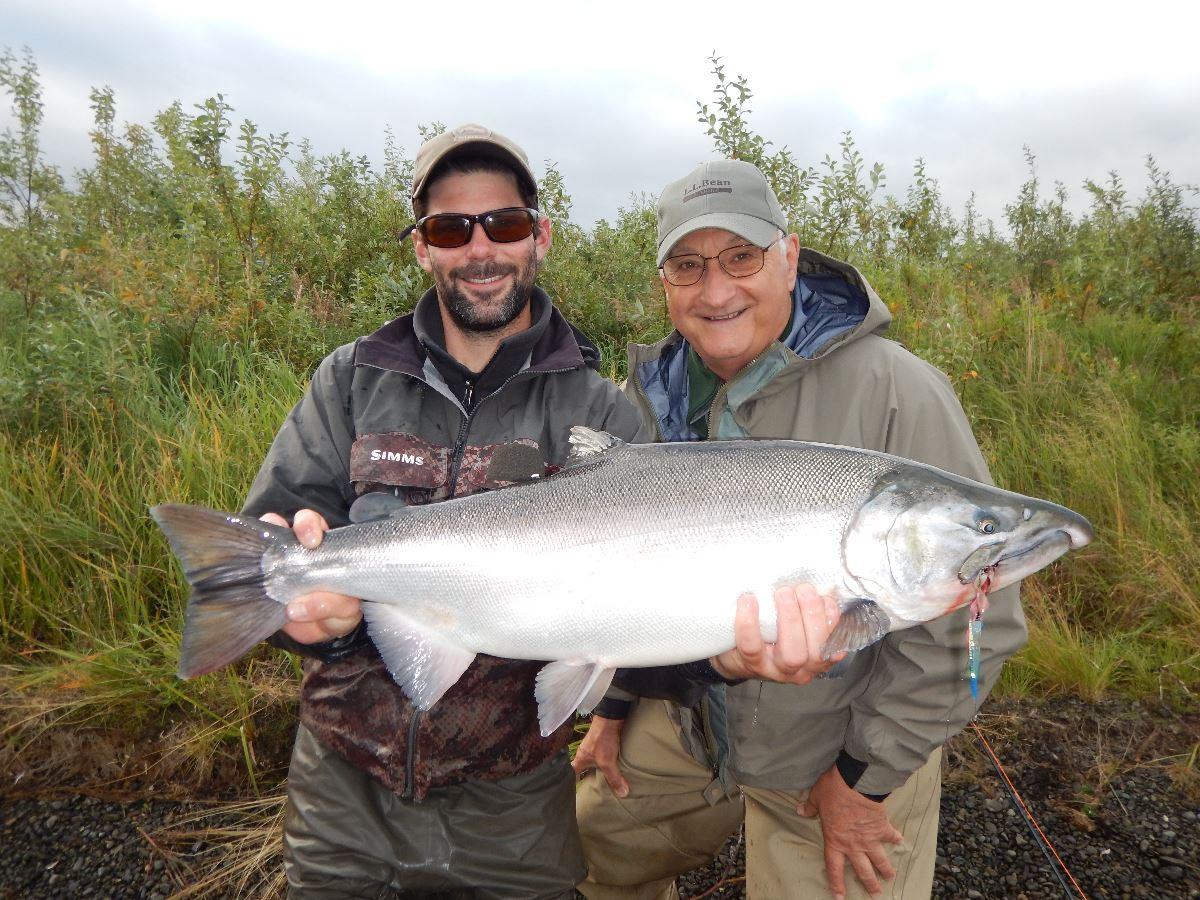 CCoho salmon, Goodnews River Lodge, Alaska, Aardvark McLeod