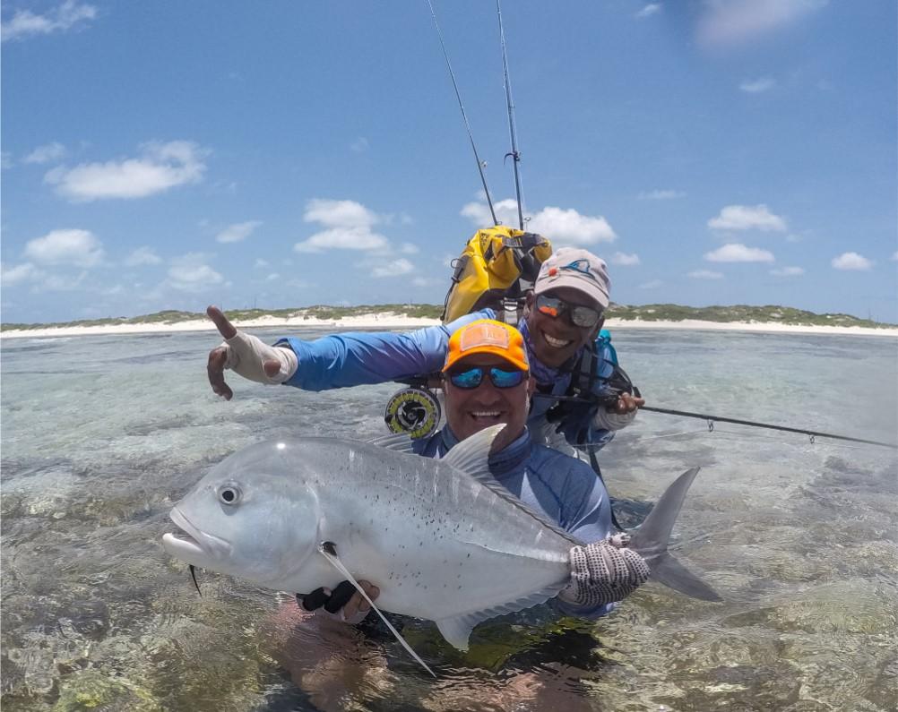 Farquhar Atoll Seychelles fishing holiday Aardvark McLeod