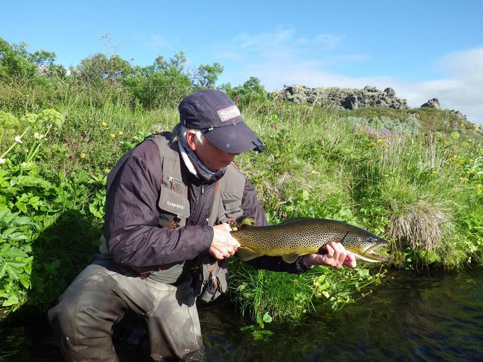 Laxardal Iceland, Laxa I Adaldal Iceland, brown trout fishing Iceland, Aardvark McLeod Iceland, Charles Jardine Iceland