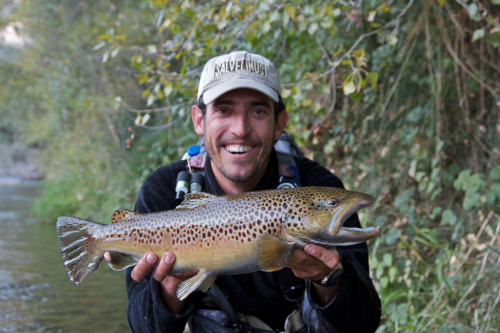 Aren Lodge, Salvelinus, spain, fly fishing, pyrenees, trout