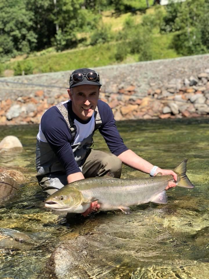 Winsnes Lodge Norway, Norway, Matt Hayes Norway, Gaula River Norway, Salmon Fishing Norway, Aardvark McLeod Norway