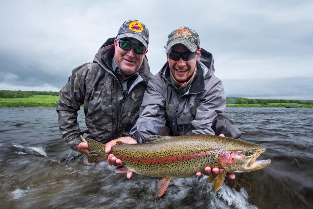 Savan Kamchatka Trout fishing, Russia