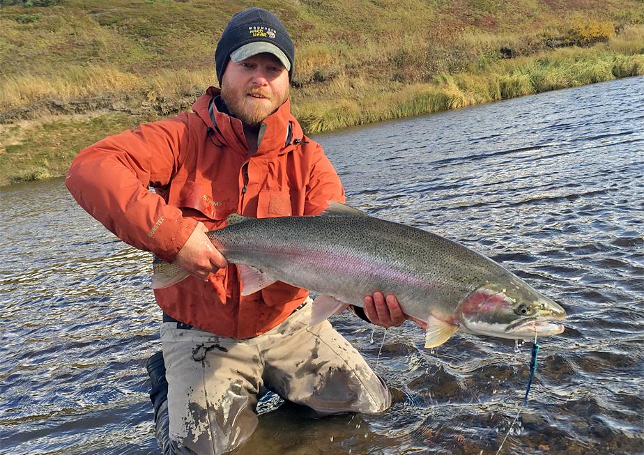 Steelhead Kamchatka Trout fishing, Russia