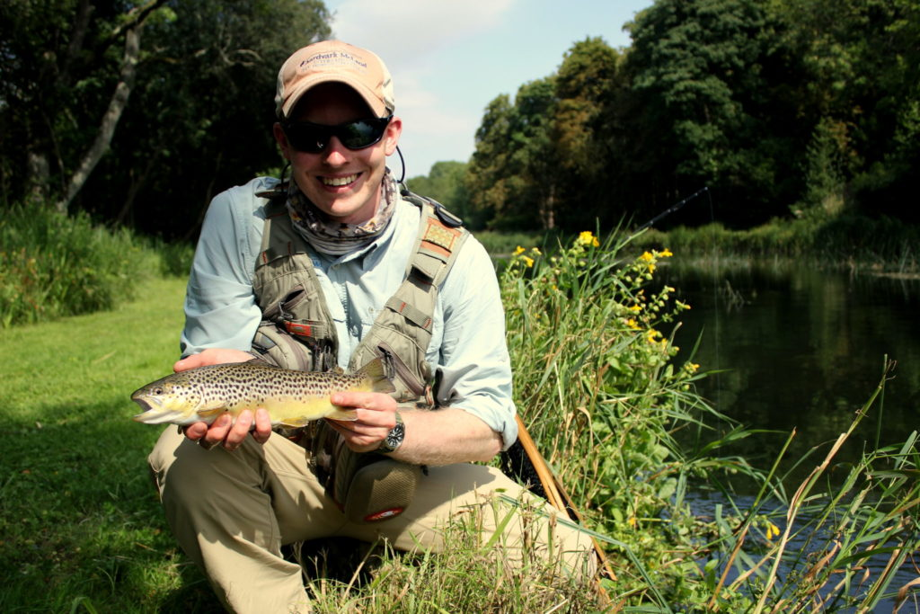 Alex Jardine, Chalkstream Fishing, Aardvark McLeod