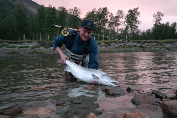 Oldero Lodge, Norway, Salmon fishing, Norway fishing guide, Aardvark McLeod