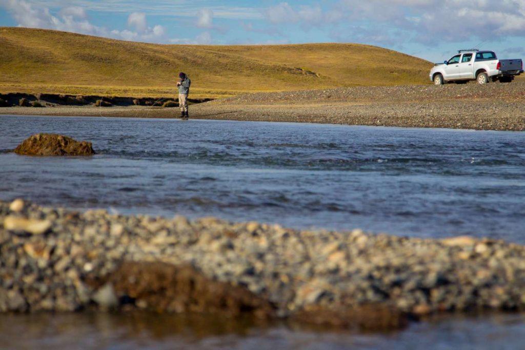 Sea trout fishing Kau Tapen Lodge, Rio Grande (TDF), Argentina, Kau Tapen, Argentina, Aardvark McLeod