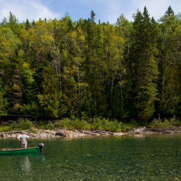 Camp Bonaventure, Salmon Lodge, Canadian Salmon Club, Grand Cascapedia, Petite Cascapedia, Dry fly salmon fishing, bomber fishing, fishing Canada, fishing Quebec, fishing New Brunswick, fishing Bathurst, Atlantic salmon, sight fishing salmon, aardvark mcleod