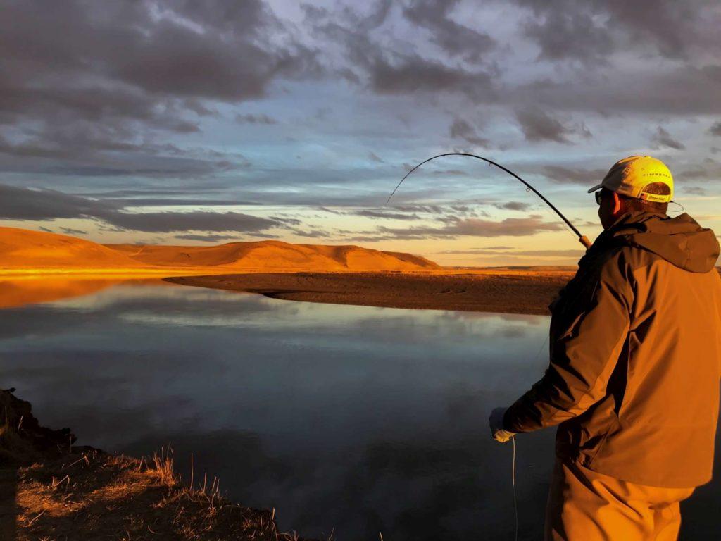 Argentina, Sea Trout, Rio Grande, Aardvark McLeod, EMB, Tierra del Fuego, huge sea trout, sea trout flies, fishing sea trout argentina, tdf, la villa maria behety, sea run brown trout, Rio Menendez, maria behety lodge