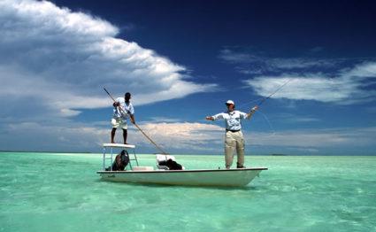 Bonefishing, Kamalame Cay, Andros Island, The Bahmas