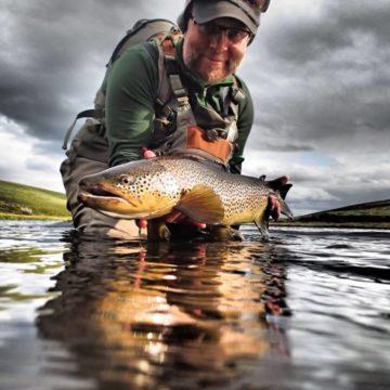 Iceland Trout Fishing, Laxa I Adaldal, Laxardal, Aardvark McLeod