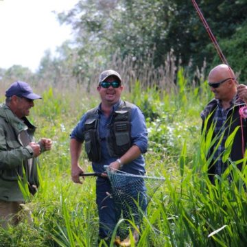 East Lodge, Itchen, Corporate group, Chalkstream fishing, Aardvark McLeod