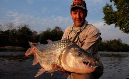 Tanzania, Tanzania tigerfish, fishing in Tanzania, fly fishing in Tanzania, tigerfish, fishing for Tigerfish