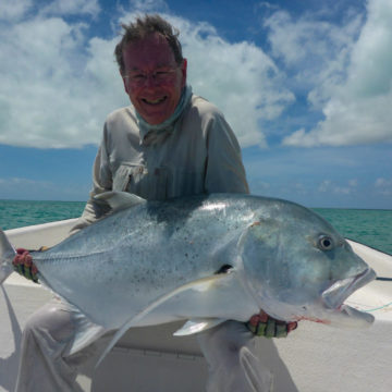 Giant trevally, Christmas Island, Ikari House, Aardvark McLeod