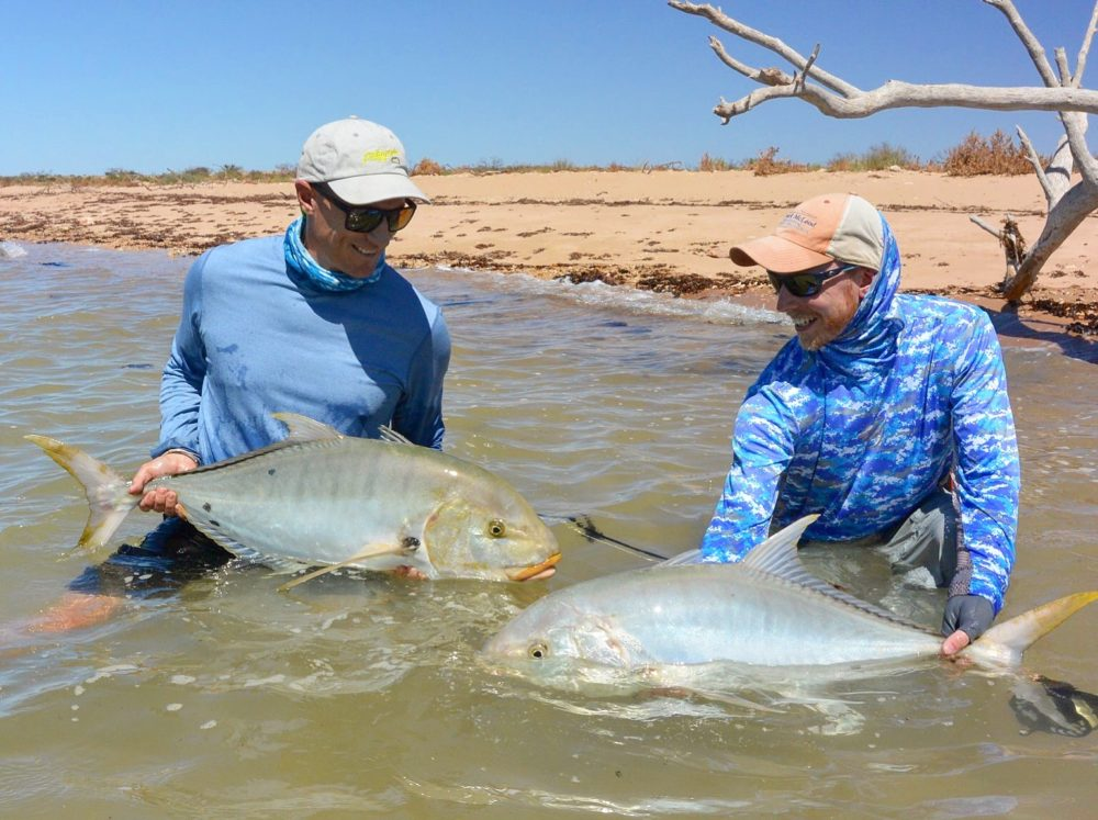 Fly Fishing Australia, Exmouth Australia, Ningaloo Reef Australia, Fishing Guide Australia, Golden Trevally