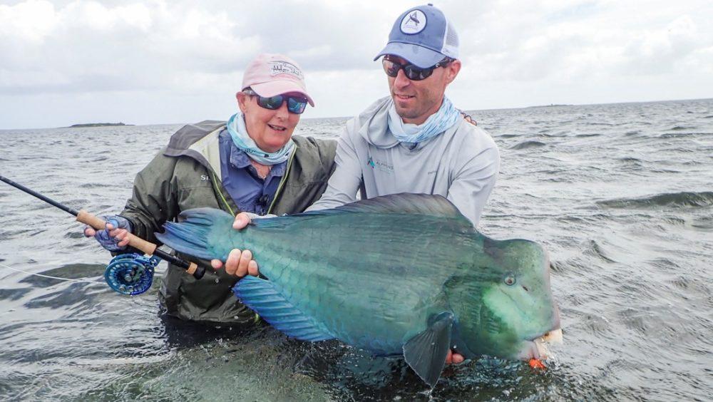 Farquhar atoll, Seychelles, Aardvark McLeod, fishing in Seychelles