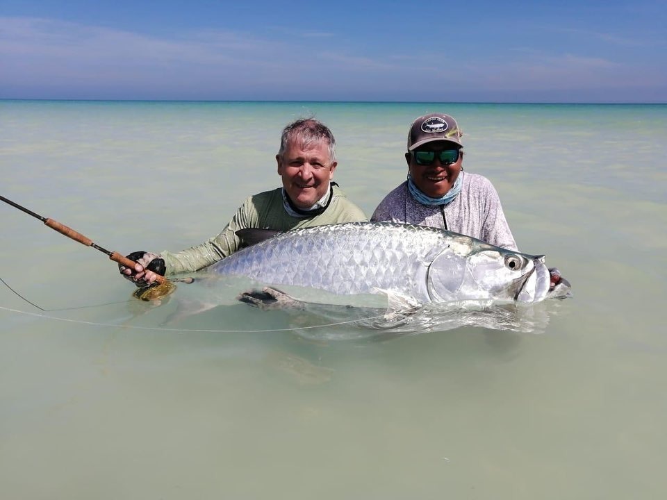 Isla Holbox Fly Fishing Lodge Mexico, Isla Holbox Mexico, Yucatan Peninsula Mexico, Tarpon fishing Mexico, Fishing Mexico, Alex Jardine Mexico, Aardvark McLeod Mexico