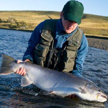 Sea trout fishing Rio Grande Argentina TDF, Aurelia Lodge, aurelia lodge, rio grande, sea trout argentina, tierra del fuego, aardvark mcleod