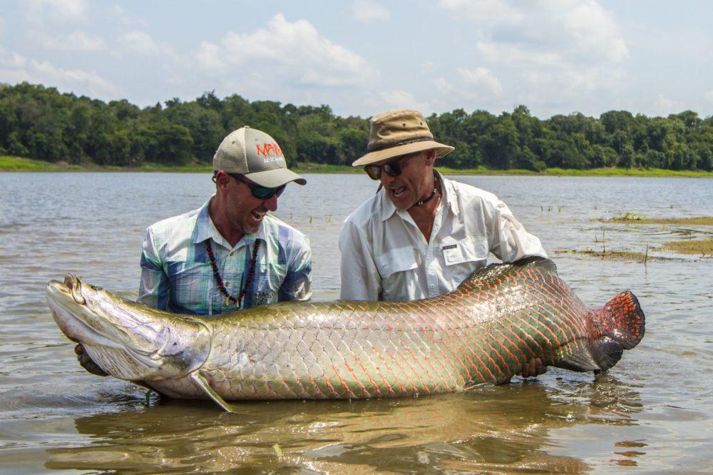 Pirarucu Lodge, Arapaima, Amazon, Brazil fishing