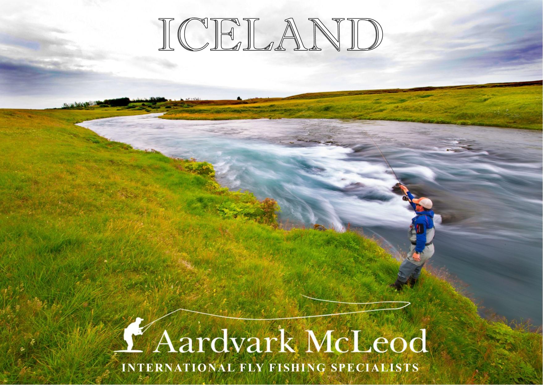 Aardvark McLeod Iceland Brochure, Fly Fishing Iceland, Salmon fishing Iceland, Trout fishing Iceland