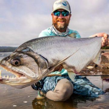 Brazil Fly fishing, fly fishing payara, peacock bass fly fishing, Xingu Lodge, Xingu River