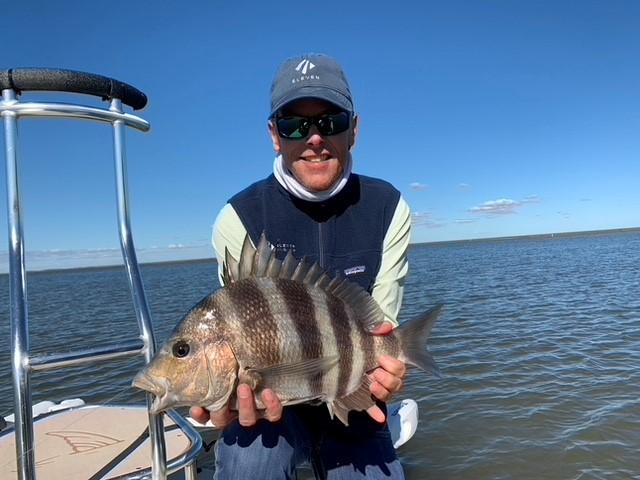 Sheepshead, Louisiana Redfish, Outpost mothership, USA, Aardvark McLeod