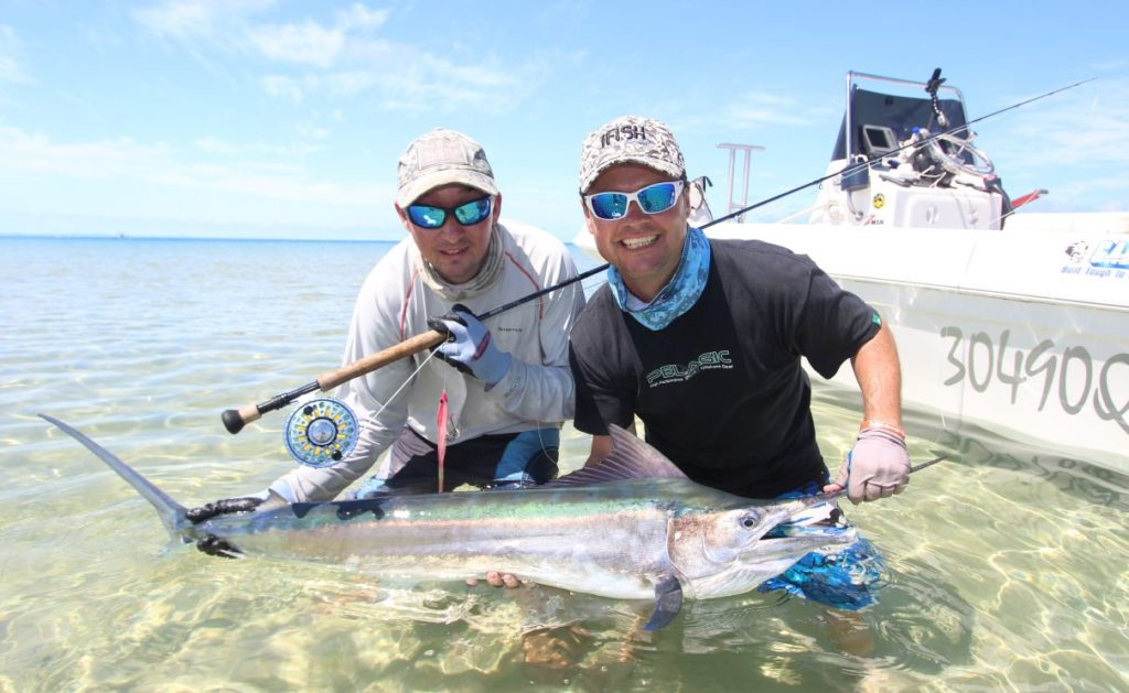 Fly Fishing Australia, Hervey Bay Australia, Fraser Island Australia, Fishing Guide Australia, Black Marlin Australia, Great Fishing Adventures of Australia