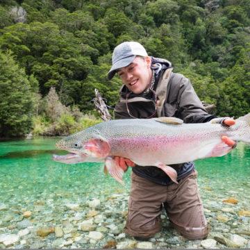 New Zealand, Trout Fishing, Aardvark McLeod