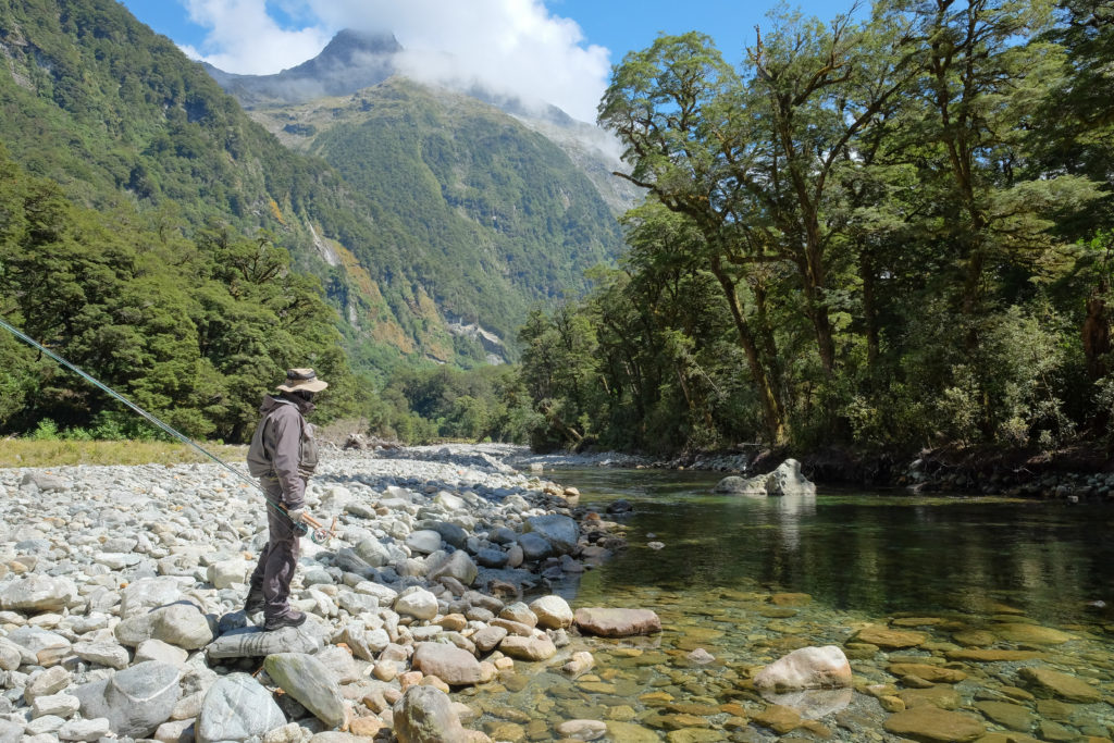 New Zealand, Trout Fishing, Aardvark McLeod