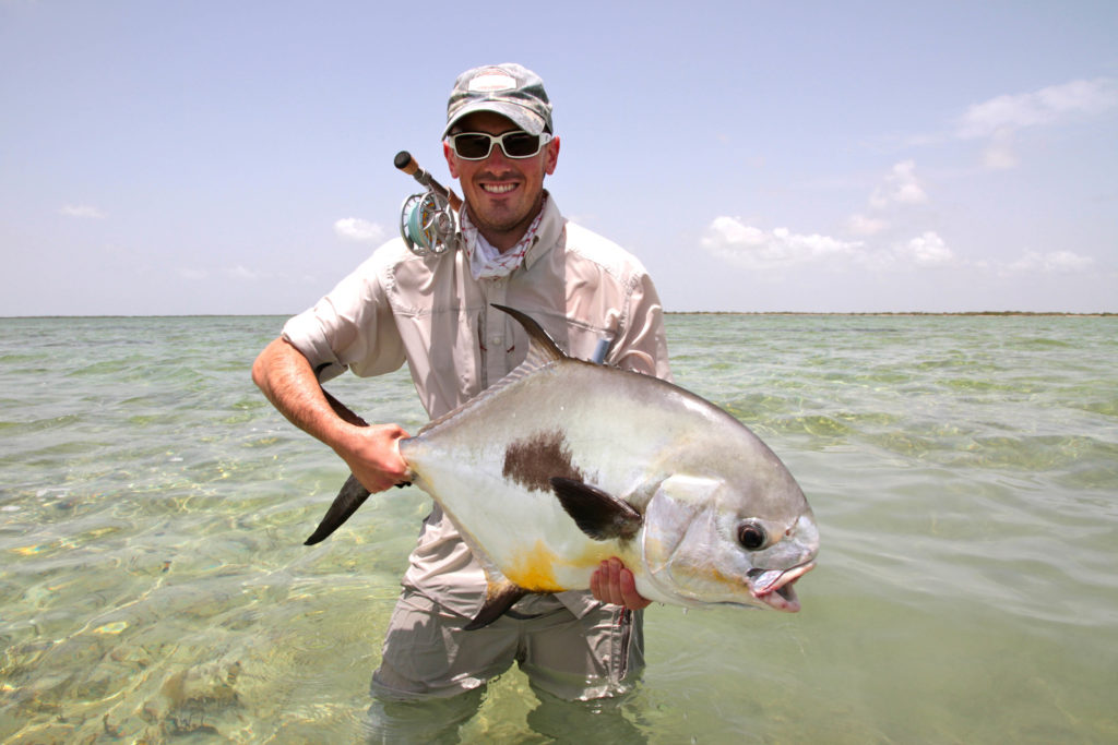 Cayo Largo, Permit fishing, Saltwater fly fishing, Aardvark McLeod
