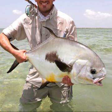 Cayo Largo, Permit fishing, Saltwater fly fishing, Aardvark McLeod