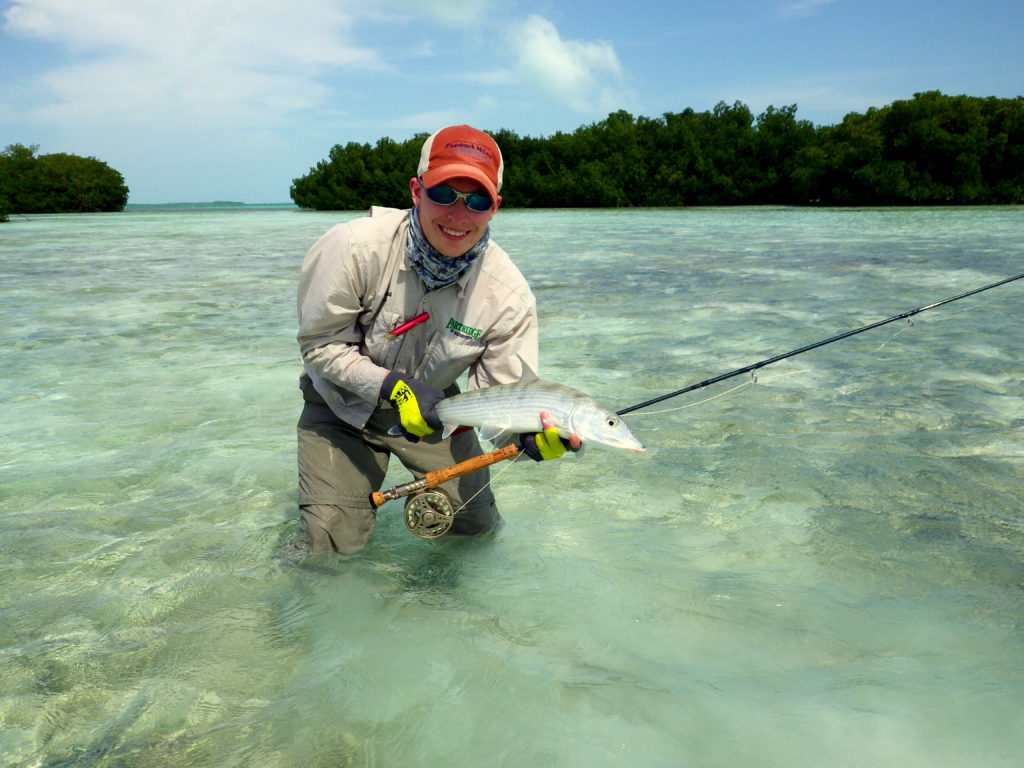 Bonefish Los Roques, Los Roques Venezuela, Saltwater Fly fishing
