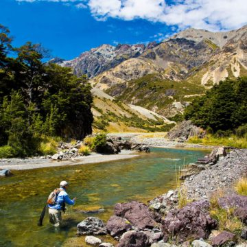 Owen River Lodge, New Zealand, trout fly fishing, New Zealand fishing guide