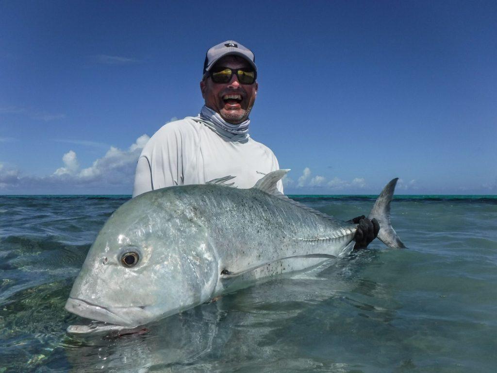 Cosmoledo Atoll, Giant Trevally, Seychelles, Aardvark McLeod