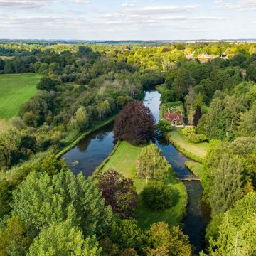 estcombe River Test, Chalkstream Fly Fishing, Aardvark McLeod