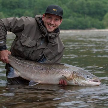 Winsnes Lodge Norway, Norway, Matt Hayes Norway, Gaula River Norway, Salmon Fishing Norway, Aardvark McLeod Norway