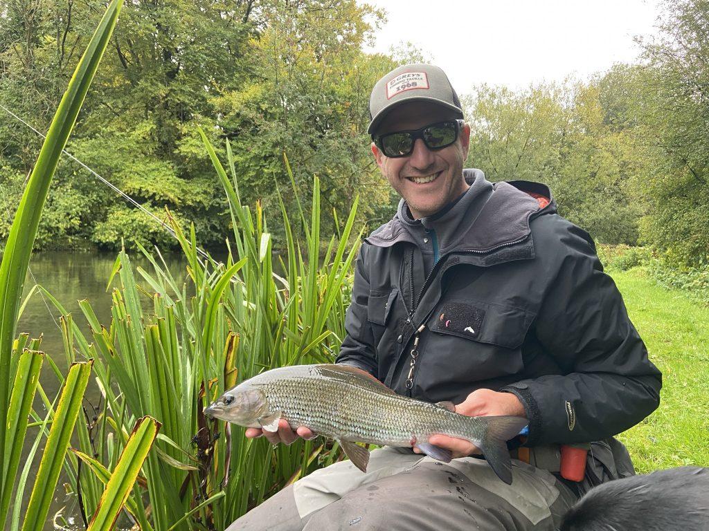 UK Chalkstream Grayling fishing, Winter Grayling, Grayling Master Class, Alex Jardine