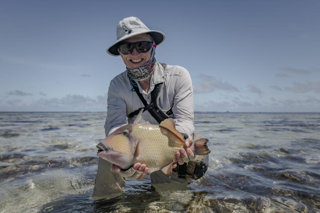 Aardvark McLeod Alphonse Island Seychelles fishing triggerfish