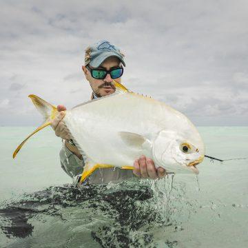 Alphonse Island Seychelles Aardvark McLeod permit fishing