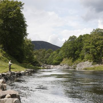 River Carron, Glencalvie, Scottish Salmon Fishing, Aardvark McLeod